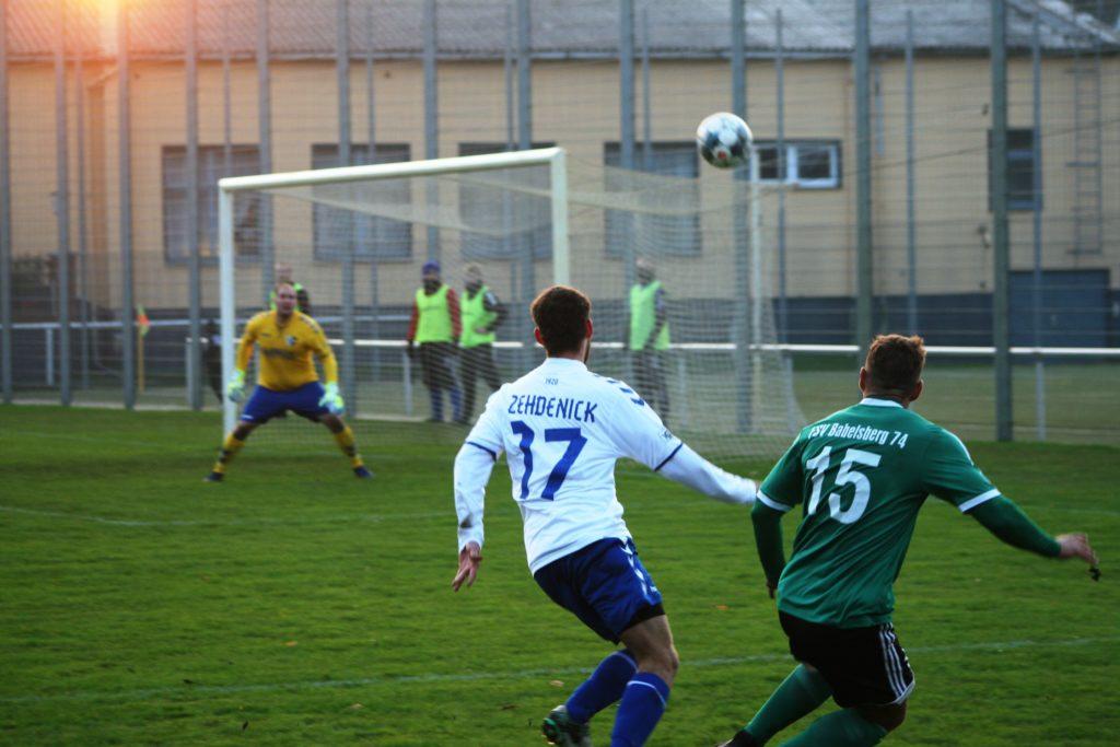 3:1 Sieg über Babelsberg 74