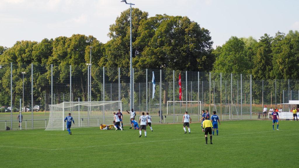 Pokalspiel gegen den SV Altlüdersdorf